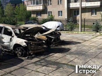 В Нижнем Тагиле сожгли внедорожник известного медиаменеджера Александра Соловьёва (ФОТО)