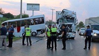 В ДТП с автобусом в Анталье пострадали 11 российских туристов