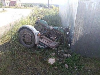Под Екатеринбургом в ДТП с мотоциклом пострадали два ребёнка