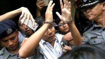 ВМьянме двоих журналистов Reuters приговорили ксеми годам тюрьмы