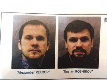 Британская прокуратура назвала имена подозреваемых в отравлении Скрипалей россиян