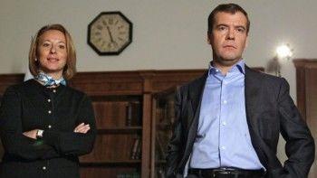Премьер Дмитрий Медведев сменил пресс-секретаря