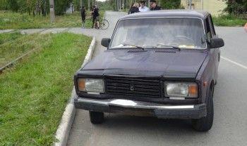 В посёлке Северный ВАЗ сбил школьницу