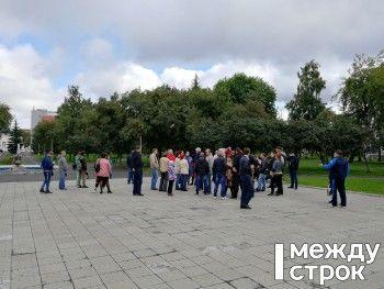 На акцию сторонников Навального в Нижнем Тагиле пришли 50 человек