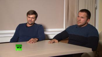 Подозреваемые в отравлении Скрипалей дали интервью главреду RT Маргарите Симоньян (ВИДЕО)