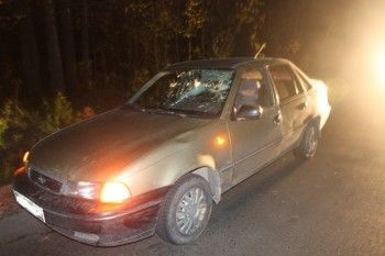 В Нижнем Тагиле Daewoo Nexia насмерть сбила пешехода