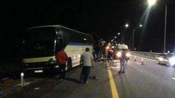 ВВоронежской области при столкновении двух пассажирских автобусов погибли пять человек
