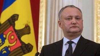 Суд отстранил президента Молдавии отдолжности