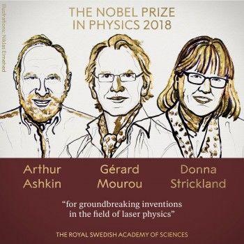 Нобелевскую премию пофизике присудили заисследования лазеров