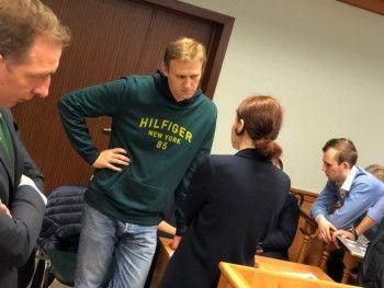 Мосгорсуд оставил Алексея Навального под арестом