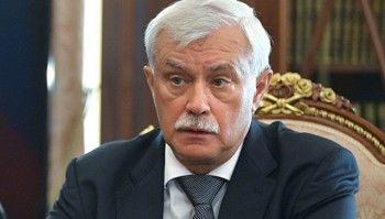Путин уволил губернатора Петербурга Георгия Полтавченко