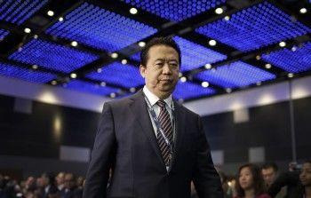 В Китае пропал глава Интерпола