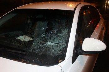 В Нижнем Тагиле на пешеходном переходе сбили женщину (ВИДЕО)