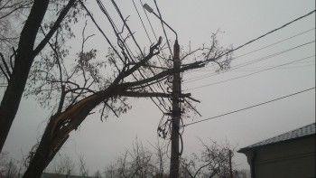 В Нижнем Тагиле энергетики ликвидируют последствия ночного урагана