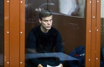 Суд арестовал футболиста Александра Кокорина