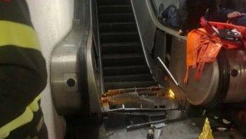 Вримском метро более 20 болельщиков ЦСКА пострадали из-за аварии на эскалаторе