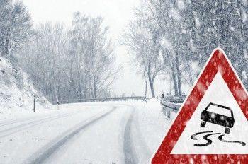 ГИБДД предупреждает водителей Нижнего Тагила о мокром снеге и гололёде