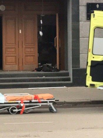 В Архангельске произошёл взрыв у здания ФСБ