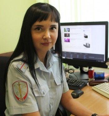 Полина Пестова из Нижнего Тагила борется за звание самой красивой сотрудницы полиции