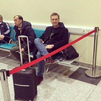 Навальный сообщил о запрете на выезд из России
