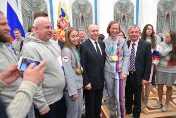 Тренер Михалины Лысовой претендует на национальную спортивную премию Минспорта России