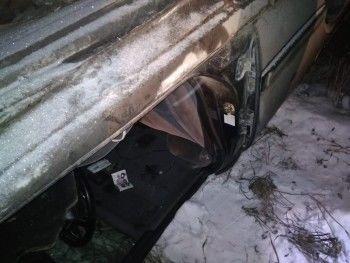 В Дегтярске в перевернувшемся Nissan погибла 16-летняя девушка