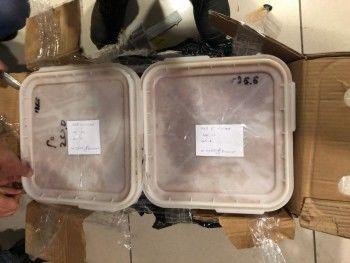 ВЕкатеринбурге задержали 700 килограммов заражённой красной икры (ВИДЕО)