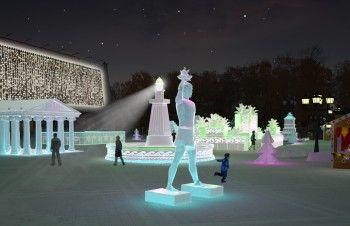 Ледовый городок с «Чудесами света» в Нижнем Тагиле построит екатеринбургский предприниматель