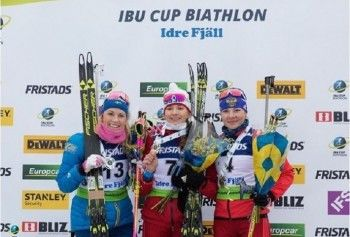 Биатлонистка из Екатеринбурга Светлана Миронова выиграла золото на этапе Кубка IBU