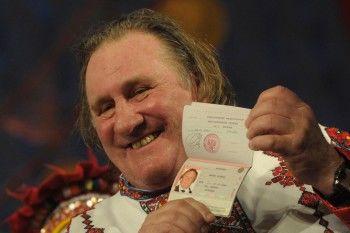 Жерар Депардье получил прописку в Новосибирске