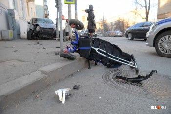Ребёнок, сбитый машиной на Фурманова, начал самостоятельно есть