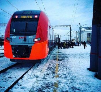 С нового года в Свердловской области подорожает проезд на «Ласточке»