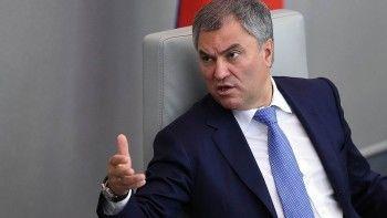 Володин предложил оценить актуальность Конституции