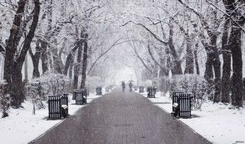 На Средний Урал идёт потепление со снегопадами