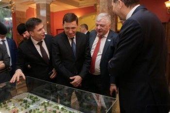 Евгений Куйвашев одобрил проект «президентского» легкоатлетического манежа в Нижнем Тагиле