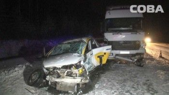 ВДТП наЕКАДе погиб водитель такси