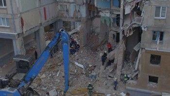 Вдоме вМагнитогорске, где произошёл взрыв, частично восстановили подачу газа