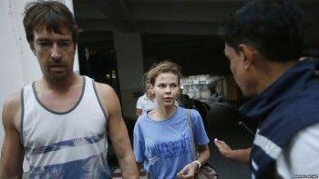 Суд вТаиланде приговорил кусловному сроку Настю Рыбку иАлекса Лесли