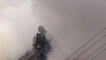 ВДагестане сгорели два торговых центра (ВИДЕО)