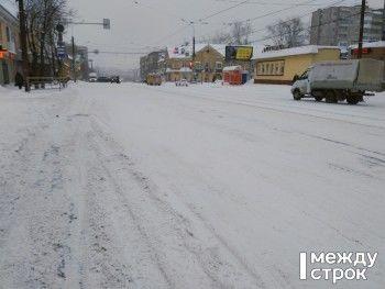Нижний Тагил на два дня накрыл снежный циклон