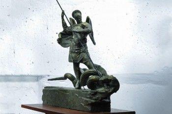 В Москве у нового здания СК установят трёхметровую скульптуру архангела Михаила