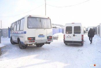 На стройку «Екатеринбург-Экспо» нагрянул ОМОН