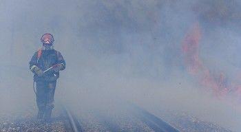 В Приморье природные пожары подошли вплотную к Транссибу (ВИДЕО)