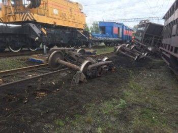 В Нижнем Тагиле осудили машиниста поезда и его помощника за аварию на путях