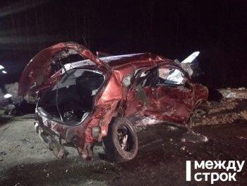 В ДТП под Нижним Тагилом пострадали пятеро взрослых и ребёнок (ФОТО)