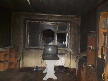 В Нижнем Тагиле при пожаре пострадал 46-летний мужчина