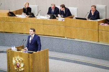 Спикер Госдумы прервал выступление в парламенте главы Минэкономразвития