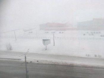 Нижний Тагил накрыла снежная буря (ВИДЕО)