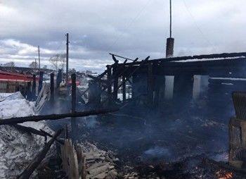 Вселе под Нижним Тагилом во время пожара погибла двухлетняя девочка