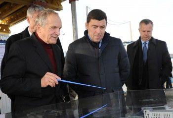 Евгений Куйвашев поручил обеспечить госзаказ для госпиталя Тетюхина вНижнем Тагиле